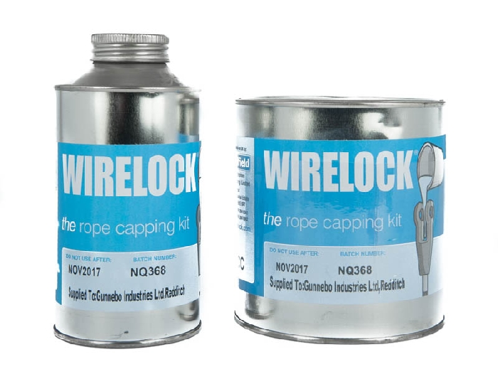 Read more details about our Wire Rope Lock Compound