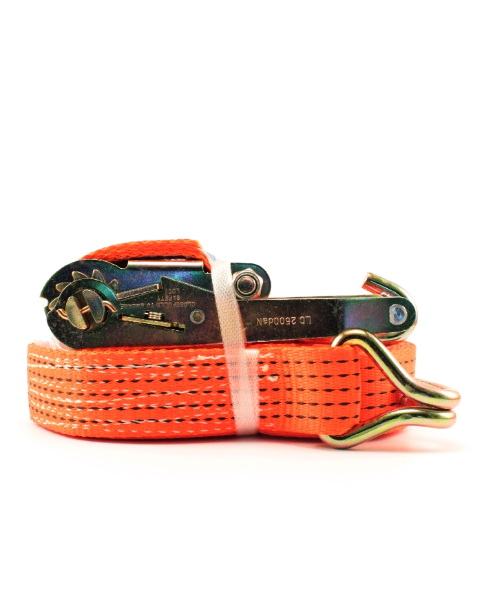 Read more details about our 50mm ratchet and 8m strap