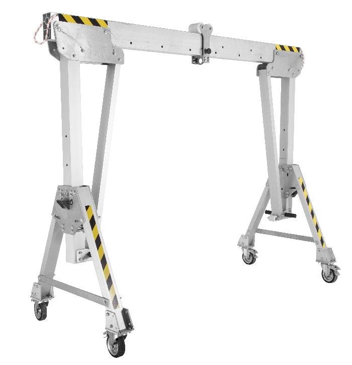 Read more details about our Portable Aluminium Gantry