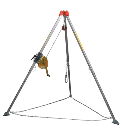Read more details about our Tripod Kit 1 c/w 20m Winch, Bag, Harness and Pulley