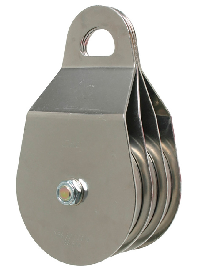 Read more details about our Pulley Block Triple Eye