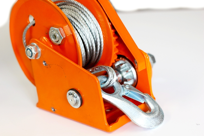 Read more details about our Painted Braked Hand Winch