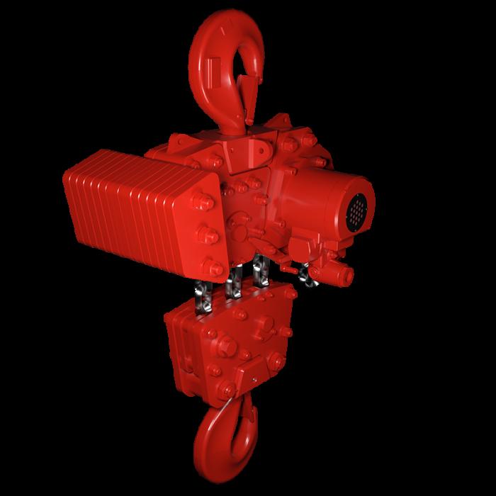 Read more details about our TMH AIr Hoist 37.5-50 Tonne