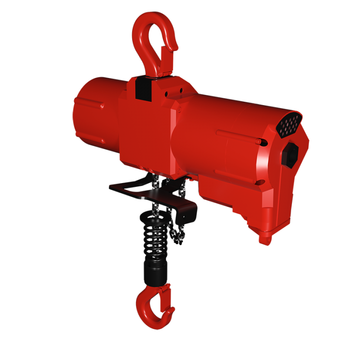 Read more details about our TCS- Lubrication Free Air Hoist