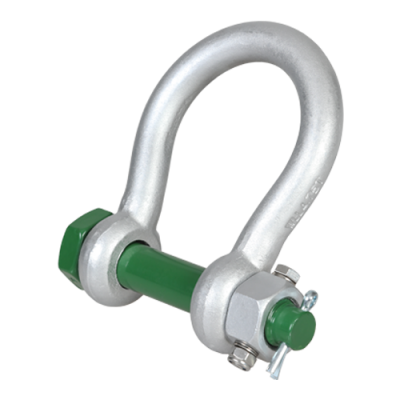 Buy 4.75 Tonne Green Pin Wide Jaw Shackle Now