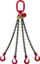 Buy 10mm Grade 80 4 Leg 2 Meter Lifting Chain Now