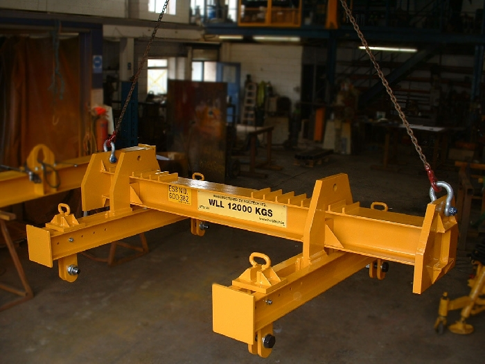 Media Library - 12t motor lifting beam
