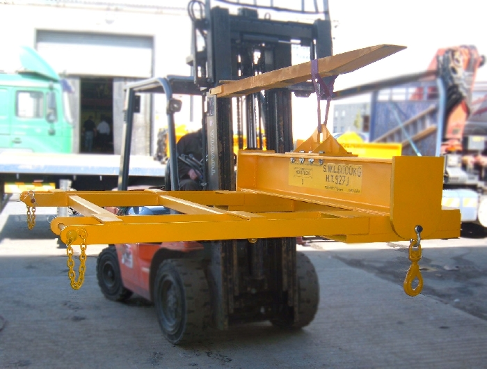Media Library - Spreader Beam fork attachment