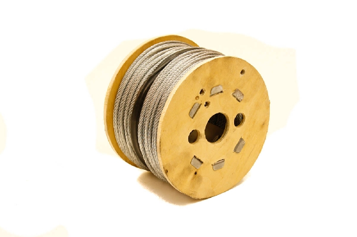 Image of Stainless Steel wire rope reel