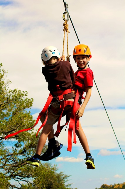 Image of 28m Zip-Line Kit (Heavy Duty)