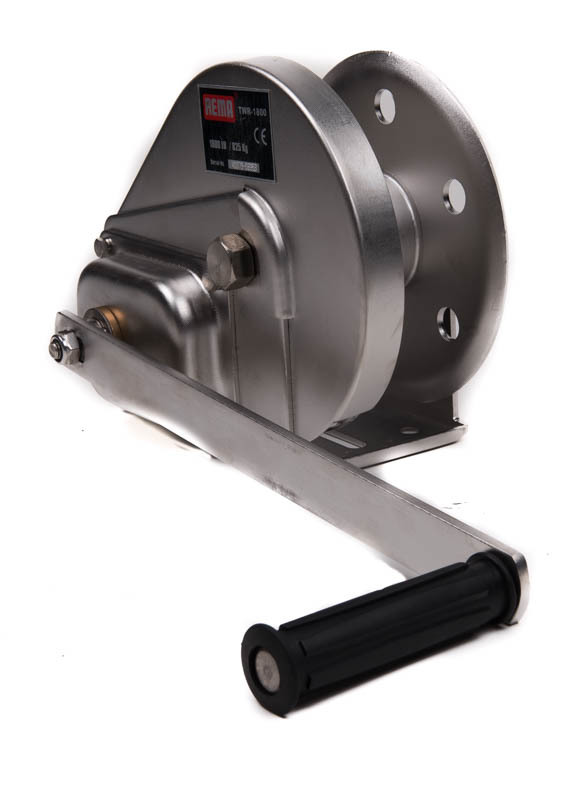 Image of REMA Stainless Braked Hand Winch