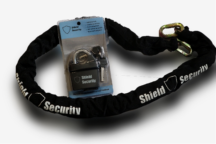 Image of Security Chain and Padlock
